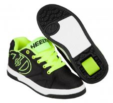 Heelys Propel 2.0 - Black- Bright Yellow-Ballistic